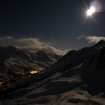 La Grave : étranges photos de nuit